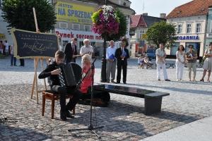 Ławka Zeidlera na gostyńskim rynku 2013_6