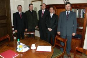 Delegacja stowarzyszenia u marszałka sejmu RP 2006_1