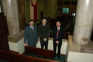 Delegacja stowarzyszenia u marszałka sejmu RP 2006_3