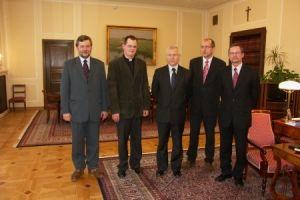 Delegacja stowarzyszenia u marszałka sejmu RP 2006_2
